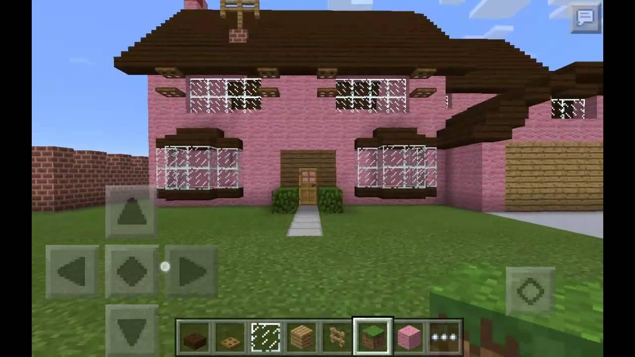Maison des simpson sur minecraft pe youtube - Video minecraft maison ...