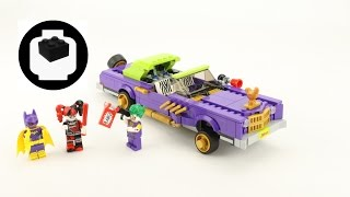 Lego - The Batman Movie - 70906 The Joker Notorious Lowrider - Motion Capture