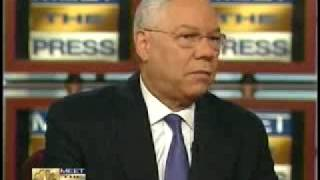 Colin Powell Endorses Barack Obama for President