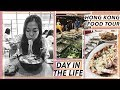 Day In The Life In Hong Kong  Seafood  Noodles   Dessert Food Tour   HK Travel Vlog
