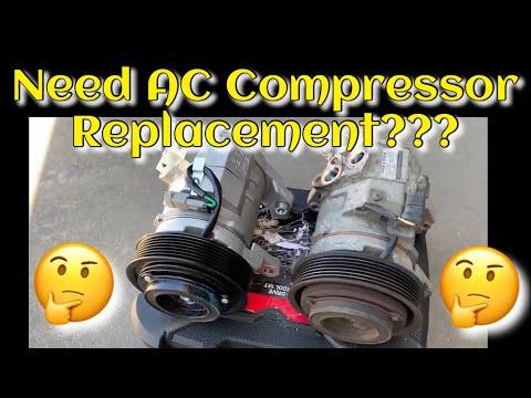 How to replace AC Compressor Dodge Ram 2004 2002-2008 1500 2500 3500 5.7