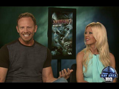 Hilarious Sharknado 3 ! Ian Ziering & Tara Reid talk Donald Trump, Kim Kardashian & More!