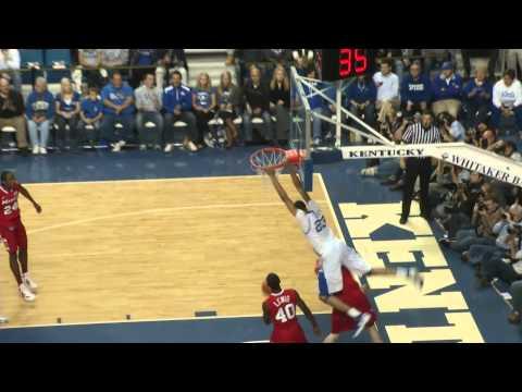 University of Kentucky Wildcats Top Ten Dunks 2011- UK Rewind