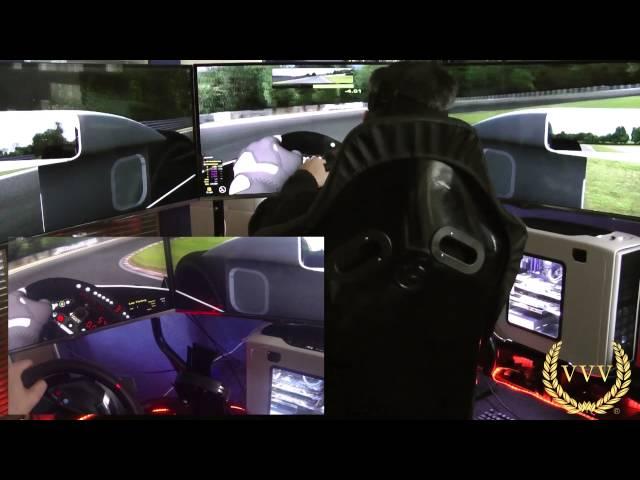 iRacing Open Wheel Test Session - Triple Screen Racing