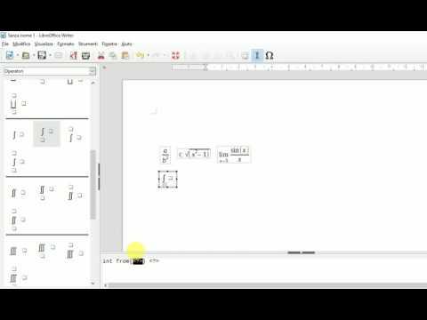 Creare domande e risposte con equazioni e simboli from YouTube · Duration:  5 minutes 57 seconds
