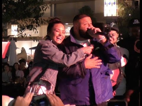 DJ Khaled tells fans how much he loves Demi Lovato!!! - Subscribe