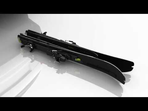 Elan Ibex Tactix folding skis
