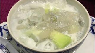 How to make Lao dessert ນໍ້າຫວານເຂົ້າສິງກະໂປ (LAO FOOD) Home Made By Kaysone