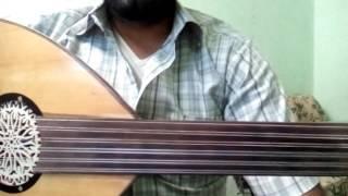 تعليم عزف اغنية رمضان جانا علي العود - How to play song ( Ramadan Gana ) on Oud