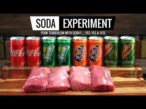 Sous Vide SODA EXPERIMENT - Pork Tenderloin Marination - April's Fools Prank!