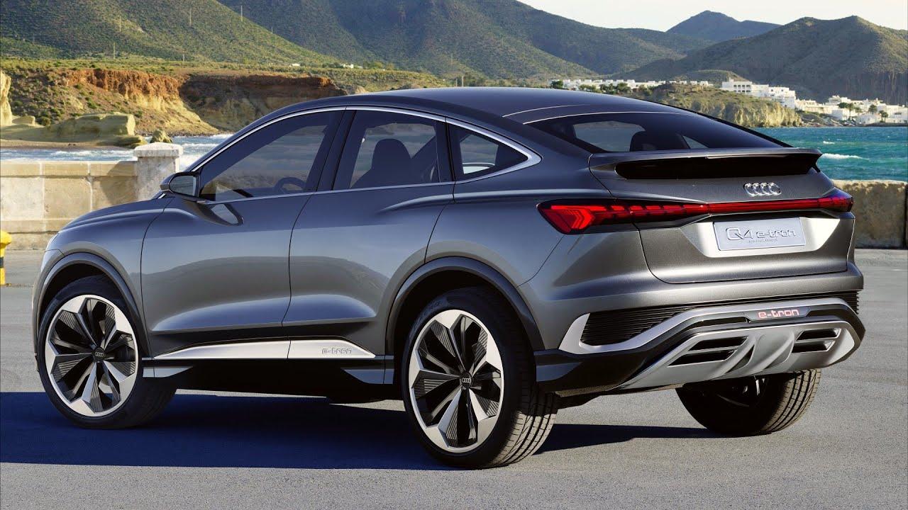 2021 Audi Q4 Sportback e-tron Concept SUV - YouTube