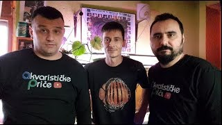 "Gambar cover Akvarističke Priče - ep.3. - ""Diskus Mario"""