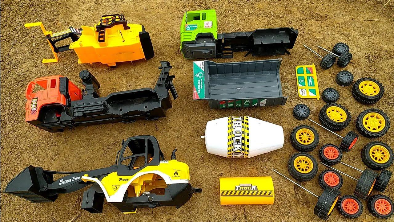 Merakit Bulldozer, Truk Molen, Loader dan Mobil Truk