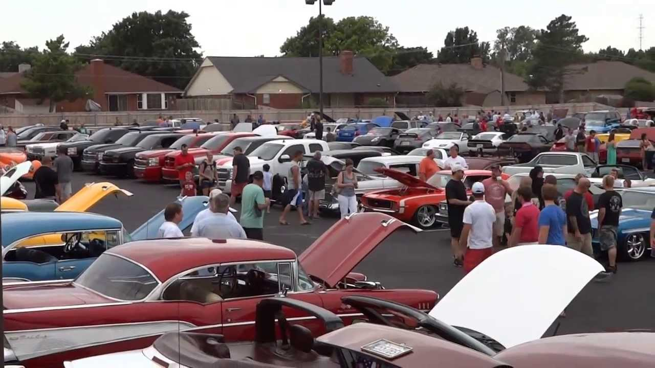 Oklahoma City Cars And Coffee Car Show YouTube - Car show okc today