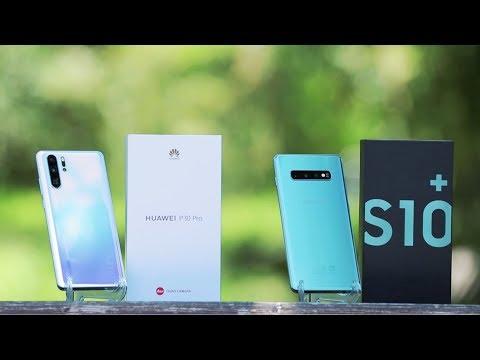 Huawei P30 pro vs Samsung Galaxy S10+ smartfonlari!