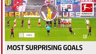 Top 10 Most Unexpected Goals - Coman, Havertz & More
