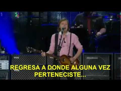 Paul McCartney- Get Back (Zocalo,Mex) Subtitulada Español
