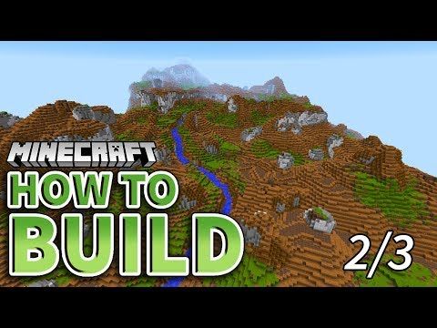 How to Build: Redwood Terrain in Minecraft! (Redwood Forest 2/3)