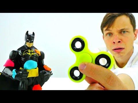 #Бетмен и Джокер: БИТВА СО СПИННЕРОМ! #Супергерои и злодеи #ИгрыДляМальчиков Битва