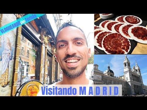 Visitando MADRID - Vlogueando con Tomás 7 (Spanisch Hörverstehen B1 mit deutschen Untertiteln)