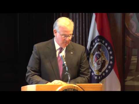 "Missouri Governor Jay Nixon D Claims ""Error"" in Tax Cut Legislation l Gate Way Group Policy Update 1"