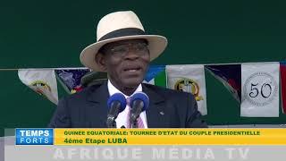 GUINEE EQUATORIALE TOURNEE DU PR OBIANG A LUBA 1