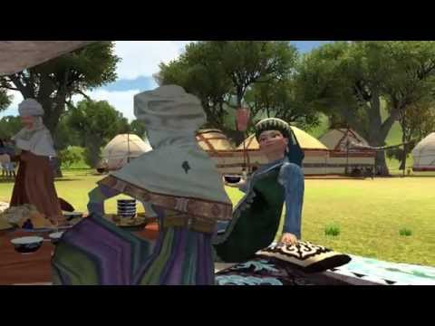 Мультфильм алпамыс батыр