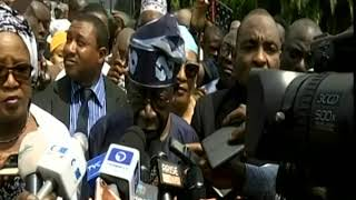 Tinubu votes, expresses satisfaction with voting process