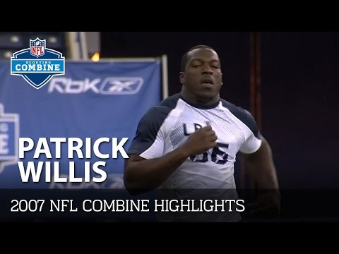 Patrick Willis (Mississippi, LB) | 2007 NFL Combine Highlights