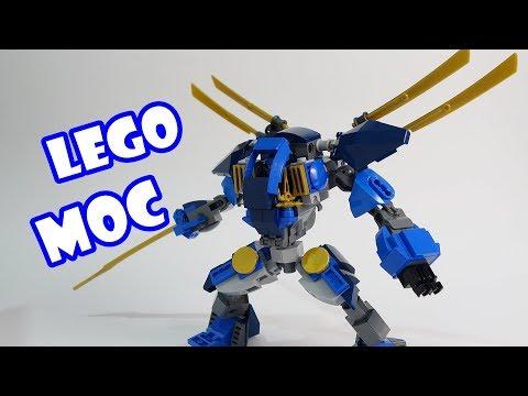 Lego Ninjago Jay's Electro Mech V2