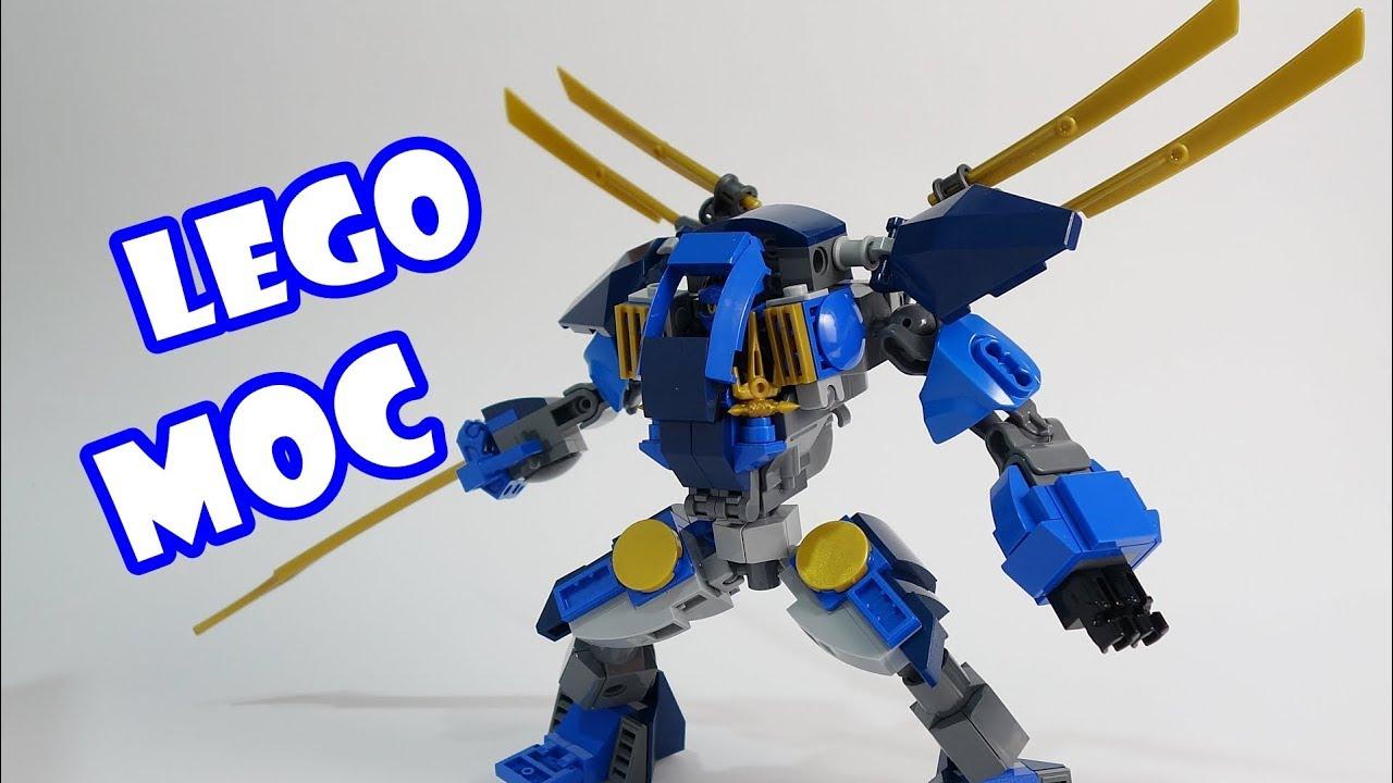 Lego Ninjago Jay's Electro Mech V2 - YouTube