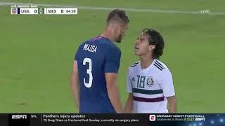 Matt Miazga vs Diego Lainez