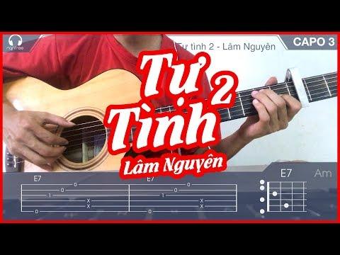(Hướng dẫn Guitar) Tự tình 2 - Lâm Nguyên | Guitar Cover | NGẦU GUITAR
