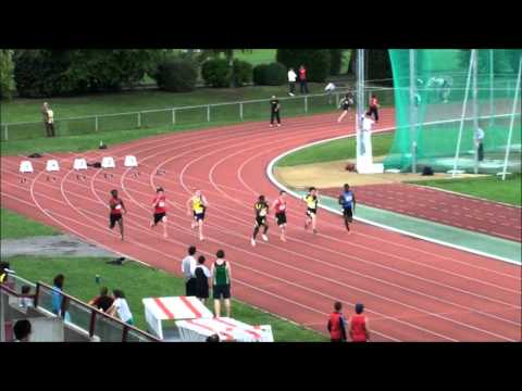 Finale 100m Hommes Championnats Genevois