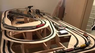 Kleiner Zeitraffer zum Baufortschritt meiner Märklin Digital H0 Modelleisenbahn