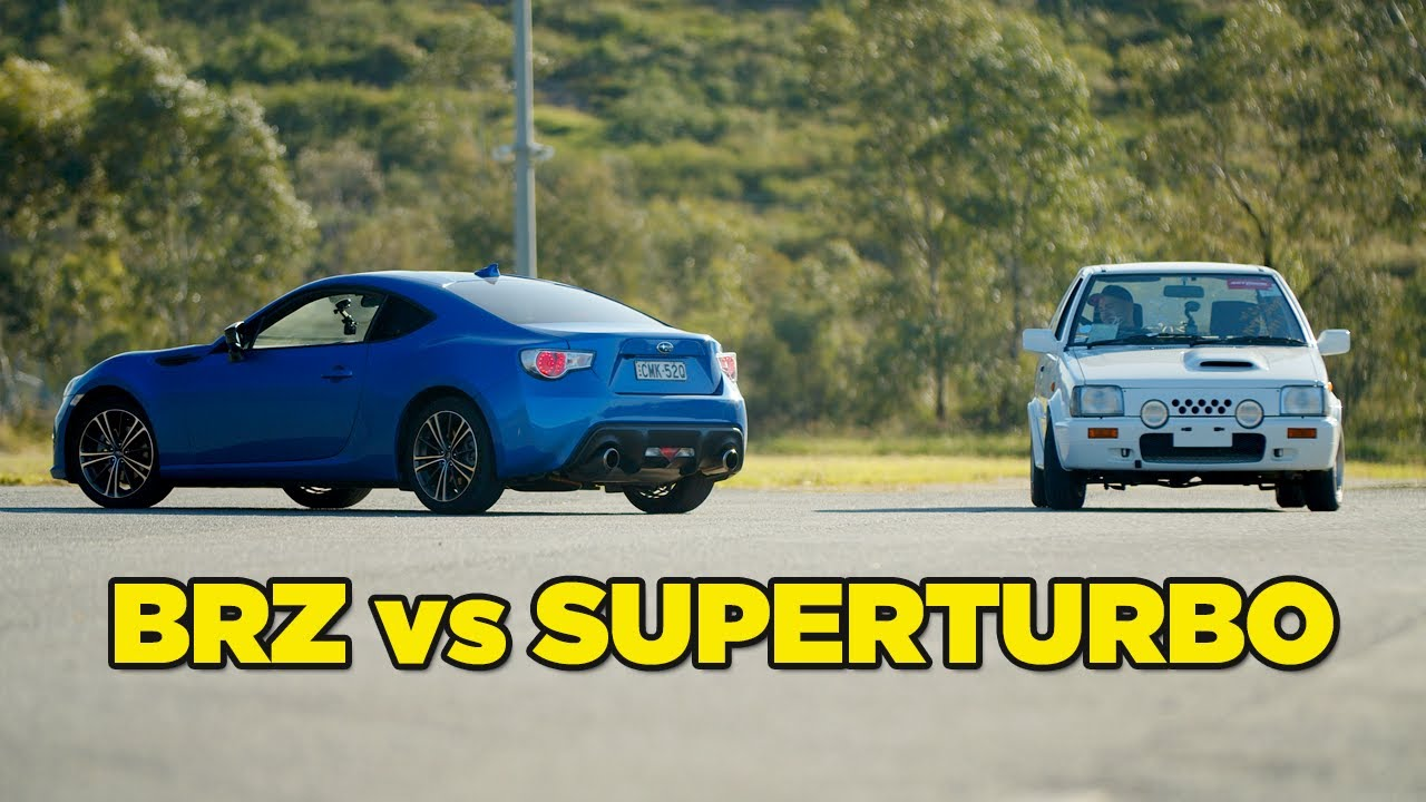 New Car vs Old Car Battle - Which is better? (BRZ VS SuperTurbo)