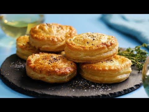 Chicken Pot Pie Biscuits (Recipe) Fast Food/ Tastemade