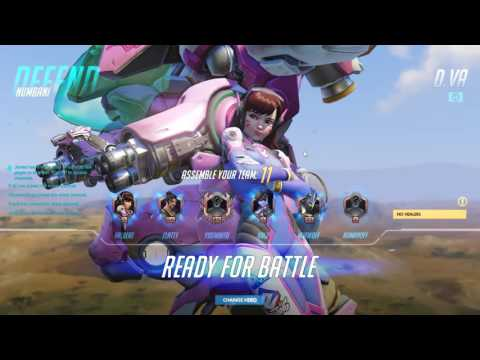 first time playing overwatch getting rekt (spoken language: chinese taiwan)