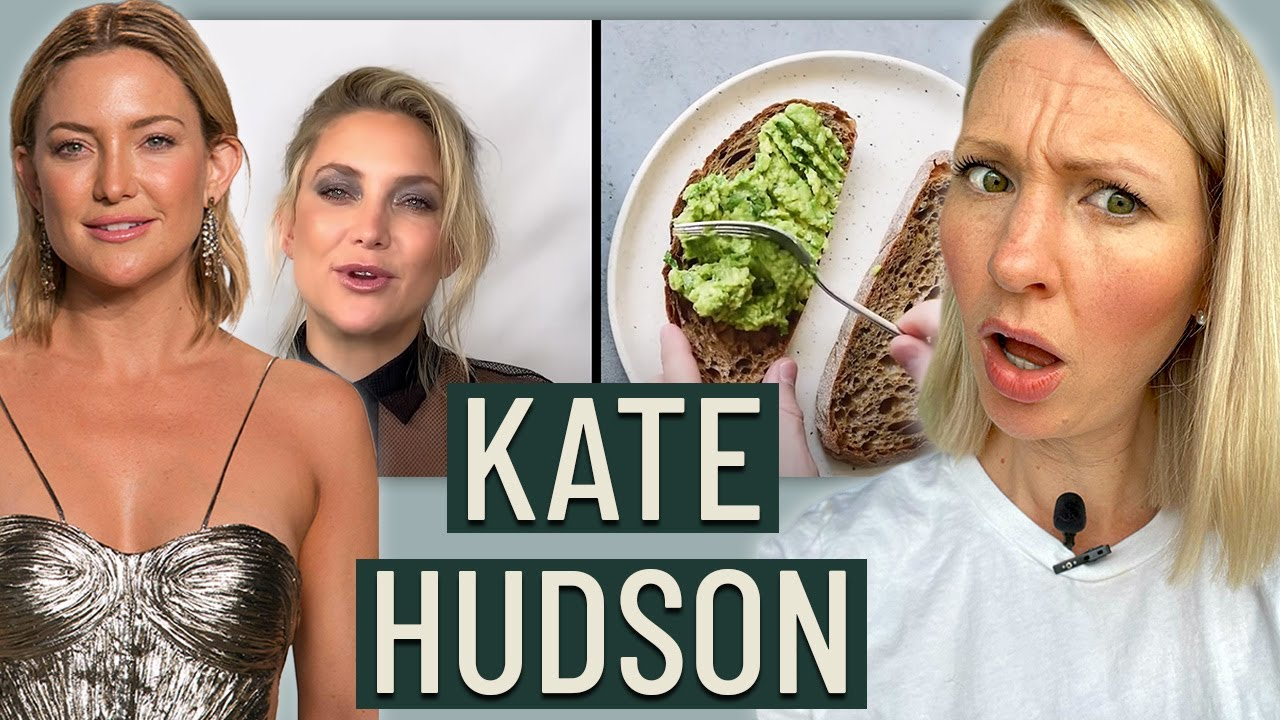 Dietitian Reviews Kate Hudson (Why Am I Not Surprised...)