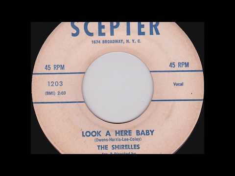 Shirelles - Dedicated To The One I Love / Look A Here Baby - Scepter 1203 - 5/59