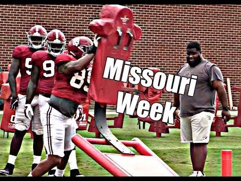 Alabama Crimson Tide Football: Watch practice before Missouri, Tua Tagovailoa in brace