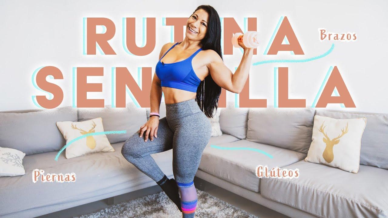 CANSADA DE TENER CELULITIS? ▻ Rutina piernas gluteos y brazos ...