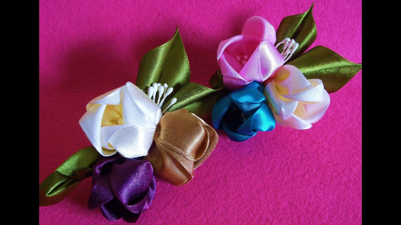 How To Make Handmade Flowers From Paper And Fabric Diy Easy Paper