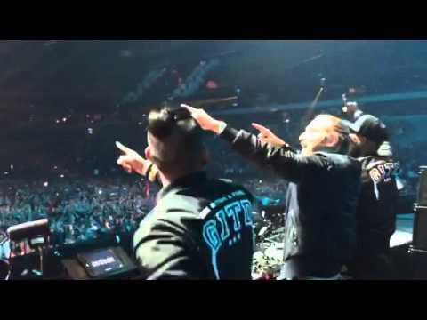 David Guetta & GLOWINTHEDARK - Clap Your Hands Live at Amsterdam Music Festival 2015