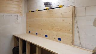 #2 - Da garage a laboratorio fai da te #2 - Montaggio parete attrezzata