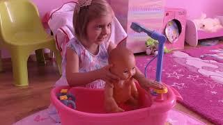 Купание Куклы Беби Бон Как девочки играют Видео для девочек Играем Дочки Матери  играем Как Мама