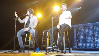 Brett Eldredge & Thomas Rhett encore, 12.4.15