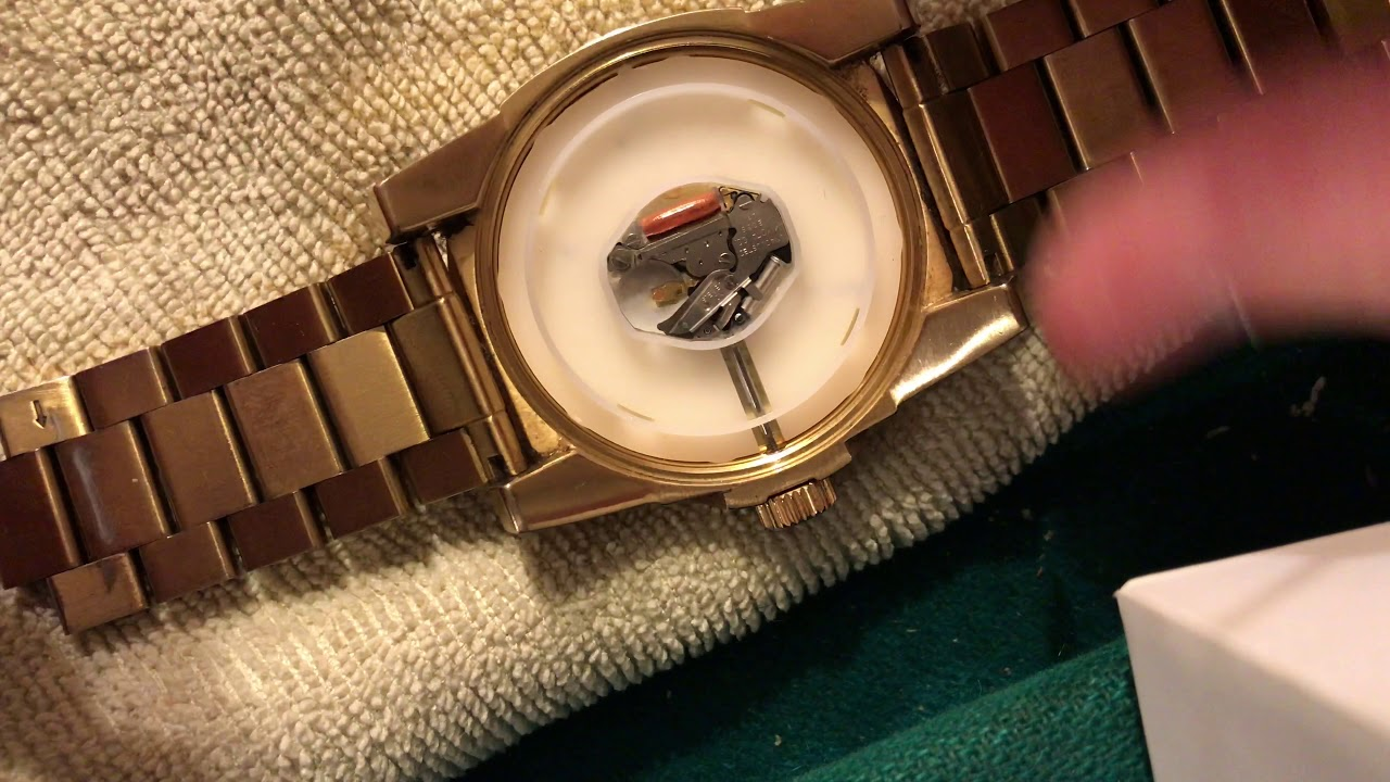 adb8e6e6d How To Change Battery On Nixon The Corporal SS Watch - YouTube