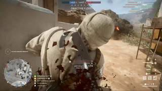 Battlefield 1 - Conquest - Sinai Desert - Trip Wire Trap