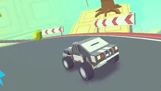 3D MONSTER TRUCK: SKYROADS LEVEL 1-5 GAME WALKTHROUGH